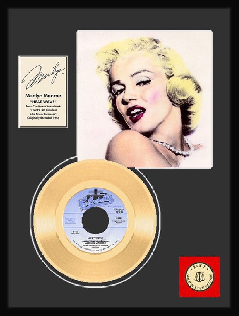 ''Heat Wave'' Gold Record