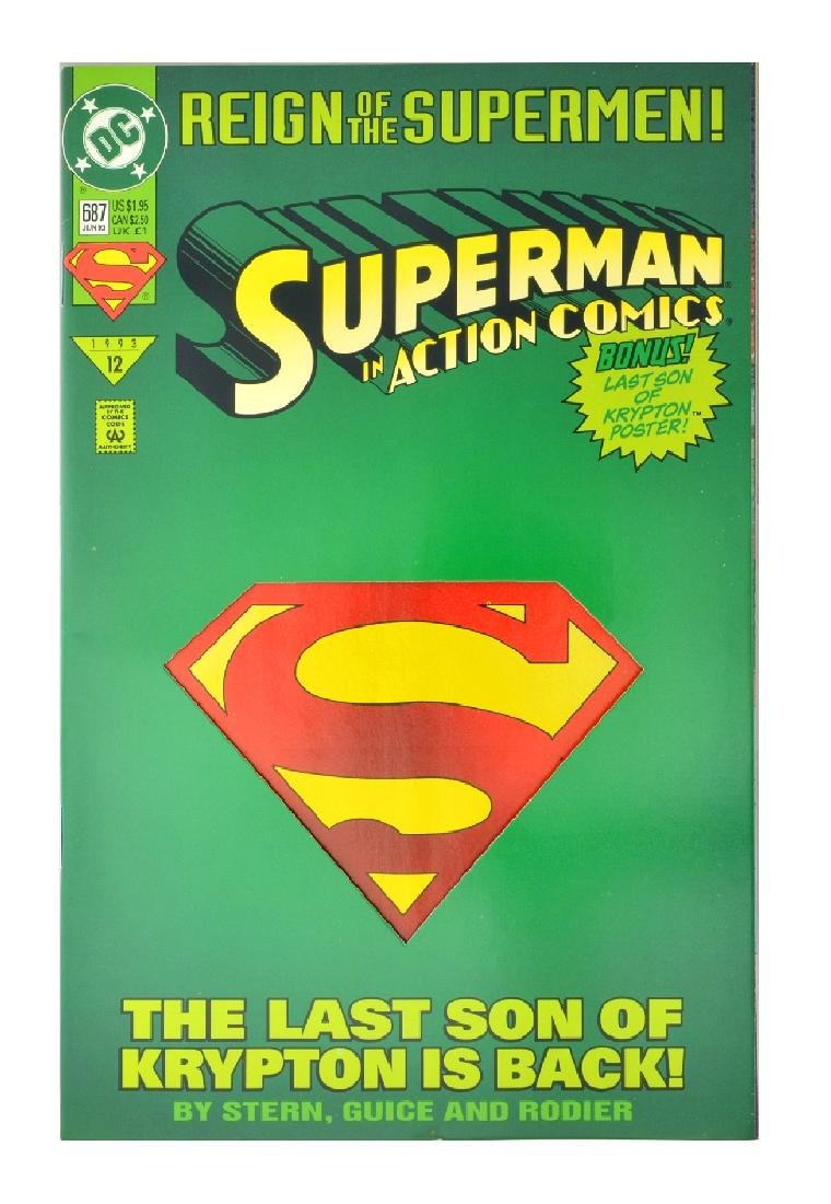 Action Comics (1938 DC) Issue #687