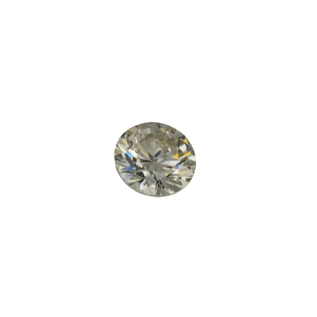Fine Jewelry GIA Certified 0.52CT Brilliant Round Cut