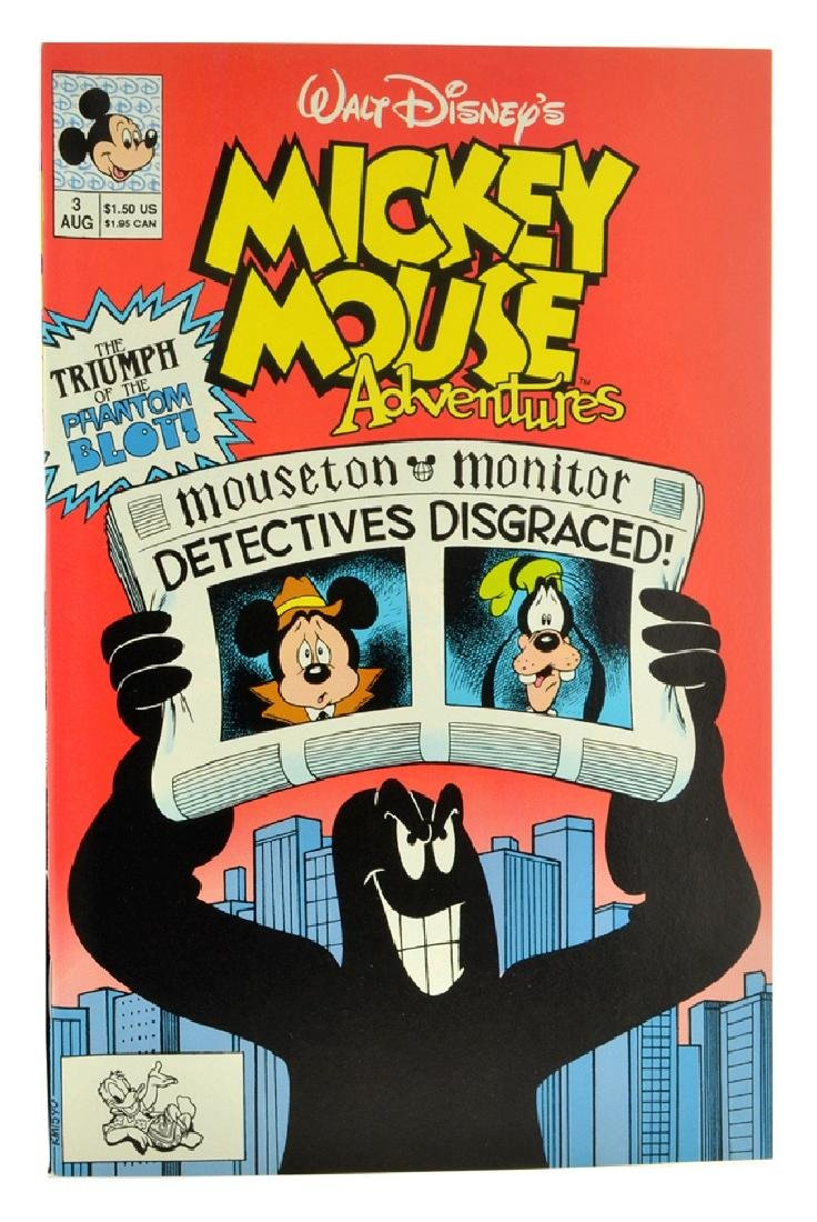 Mickey Mouse Adventures (1990) Issue 3