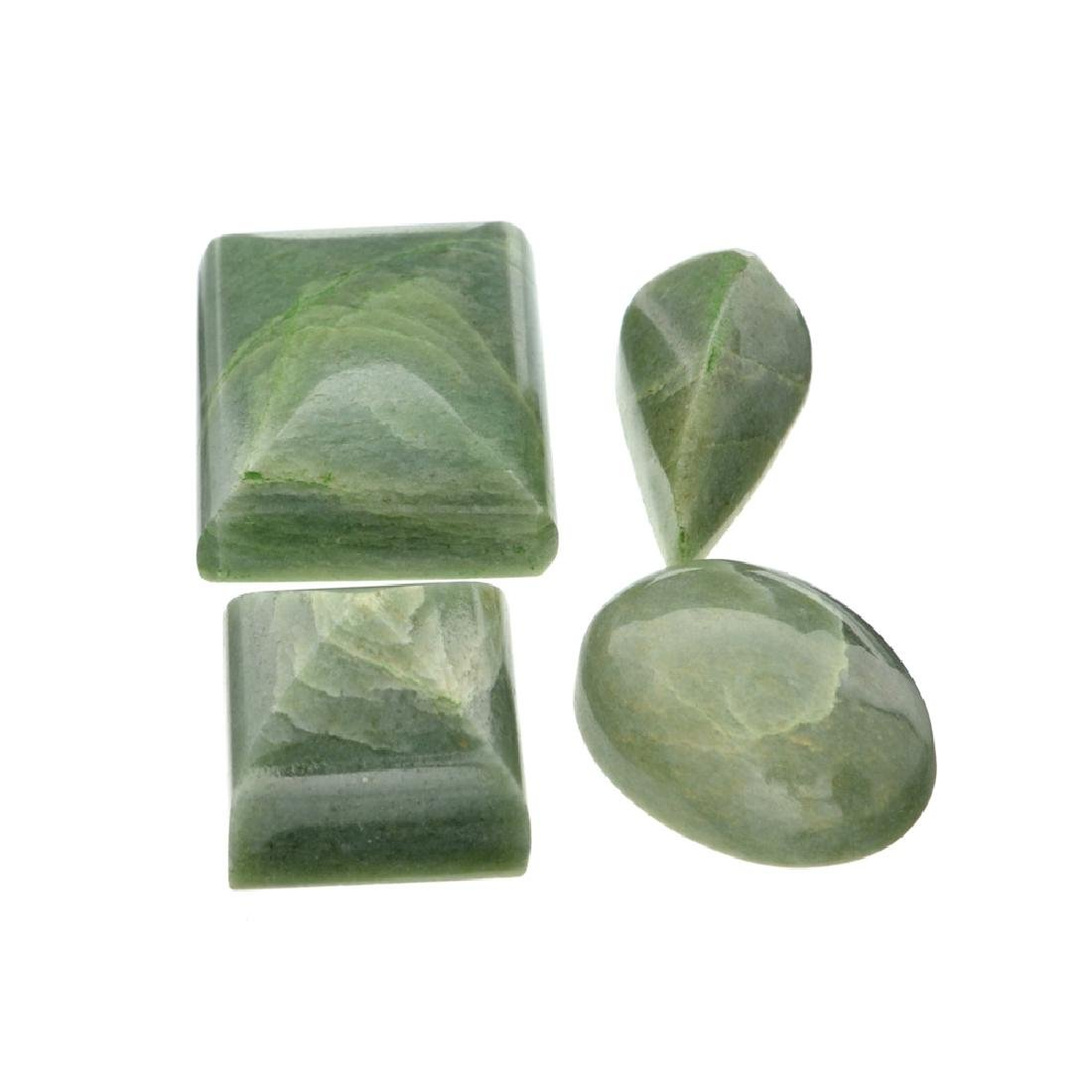 APP: 1.8k 229.64CT Various Shapes And sizes Nephrite