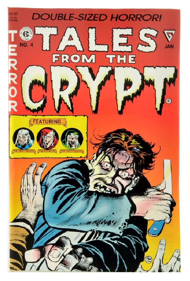 Tales from the Crypt (1990 Gladstone) Issue 4