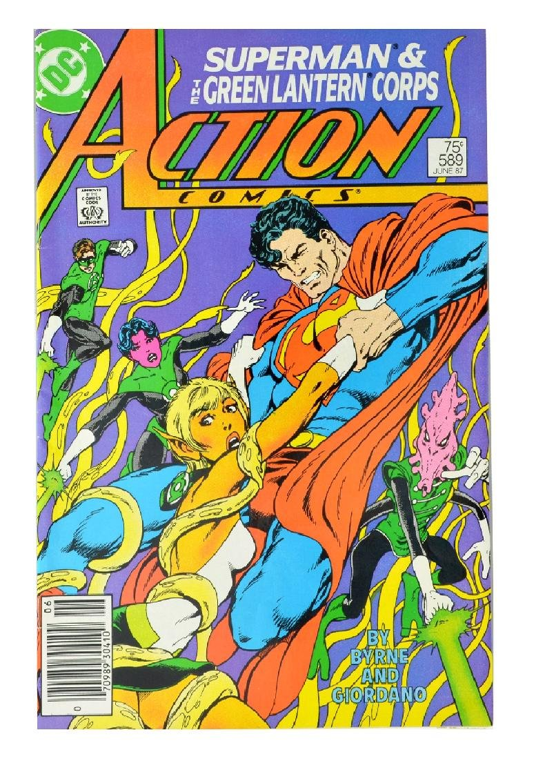 Action Comics (1938 DC) Issue #589