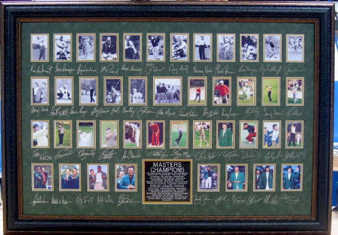 The Masters - Engraved Signatures