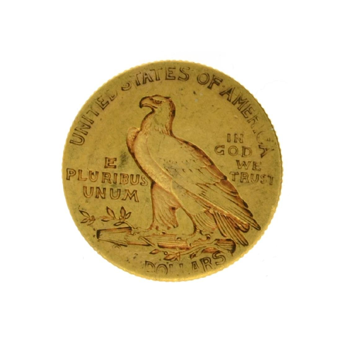 1914 $2.50 Indian Head Gold Coin - 2