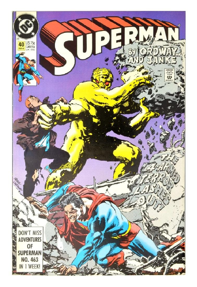Superman (1987 2nd Series) Issue #40