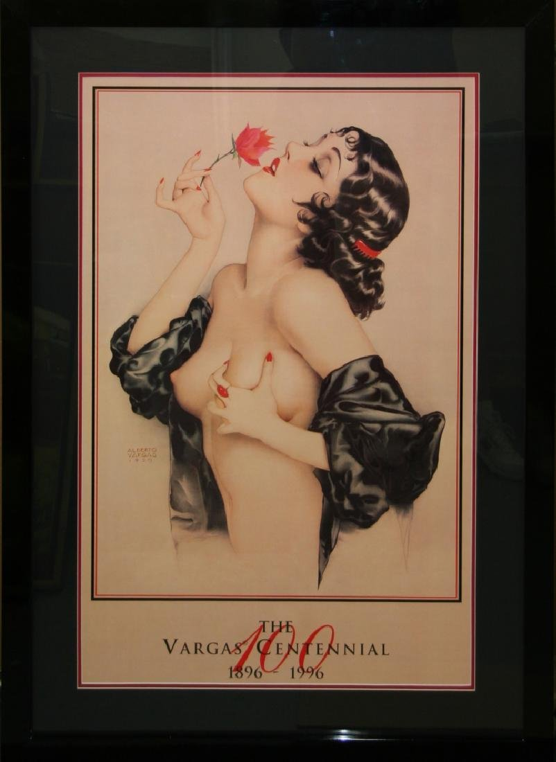 Alberto Vargas (After) Exquisitely Museum Framed &