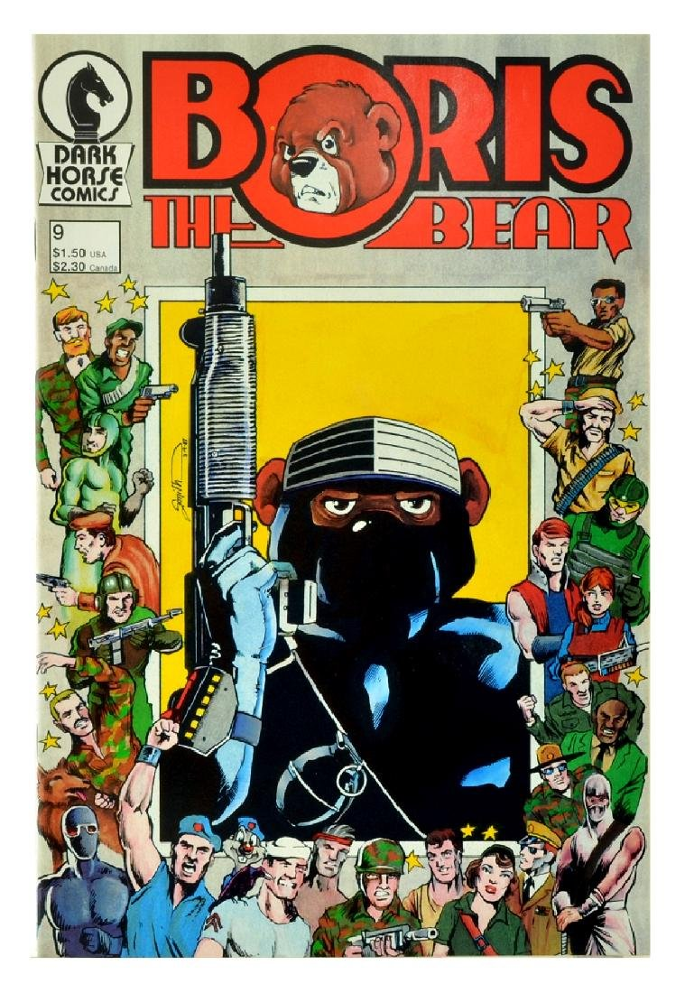 Boris the Bear (1986) Issue 9