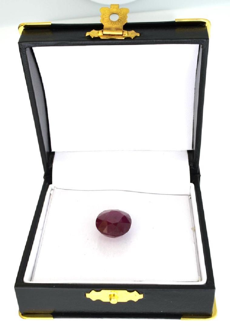 APP: 3.8k 16.52CT Oval Cut Ruby Gemstone