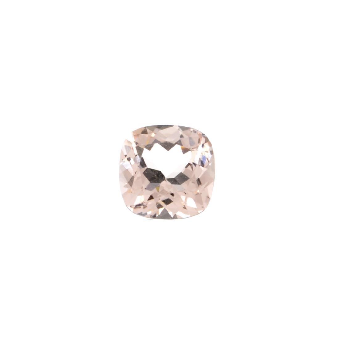 High End Rare 2.60CT Morganite Stone