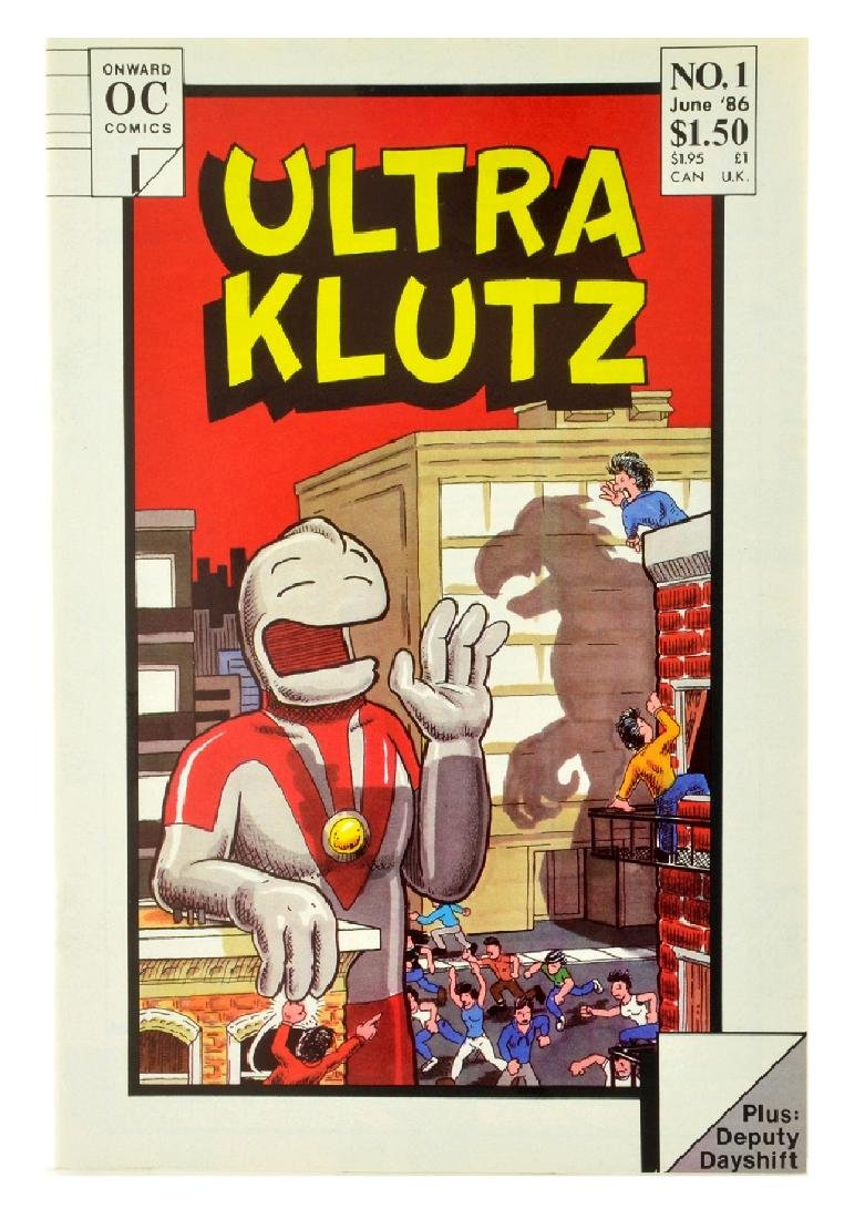Ultra Klutz (1986) Issue 1