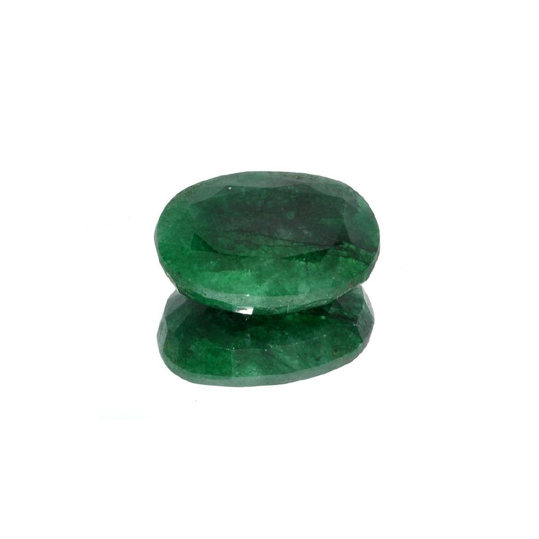 APP: 3.4k 44.93CT Oval Cut Green Emerald Gemstone