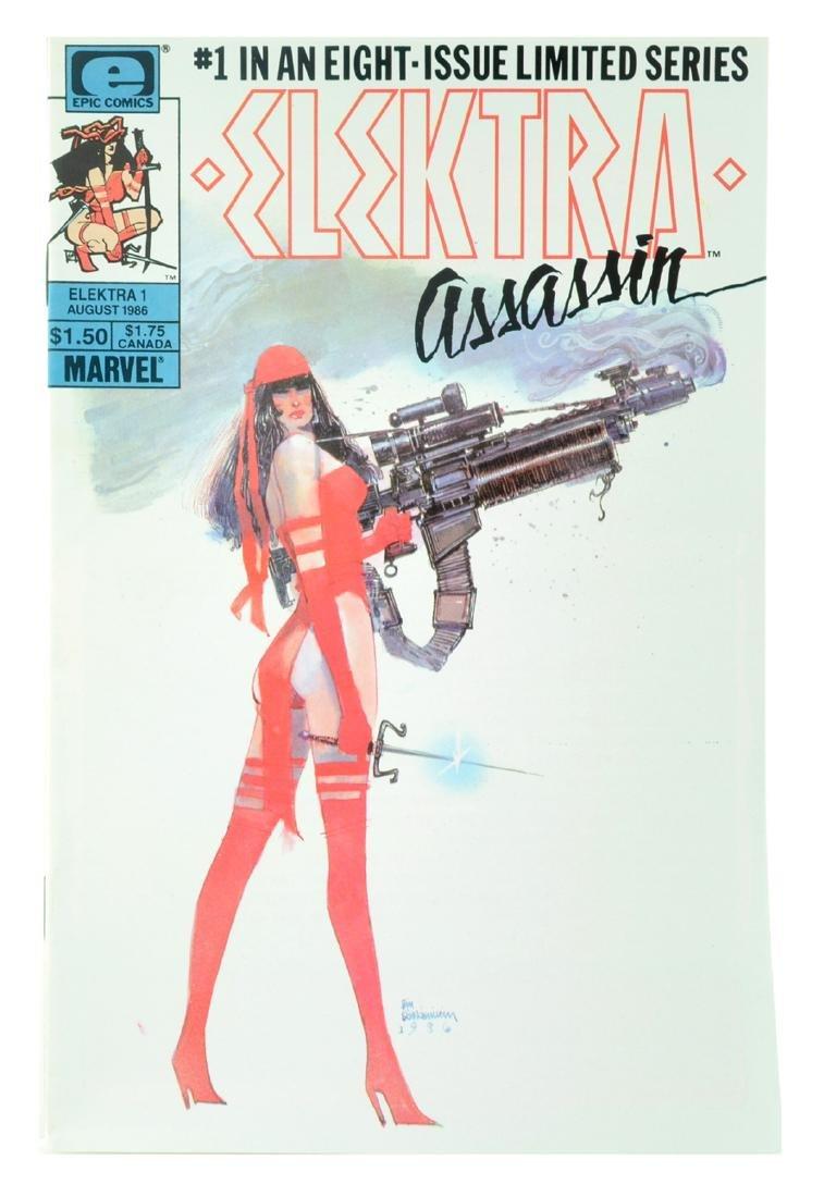 Elektra Assassin (1986) Issue 1