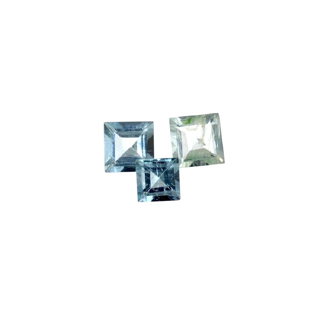 APP: 1k 2.55CT Various Shapes & Sizes Aquamarine Parcel