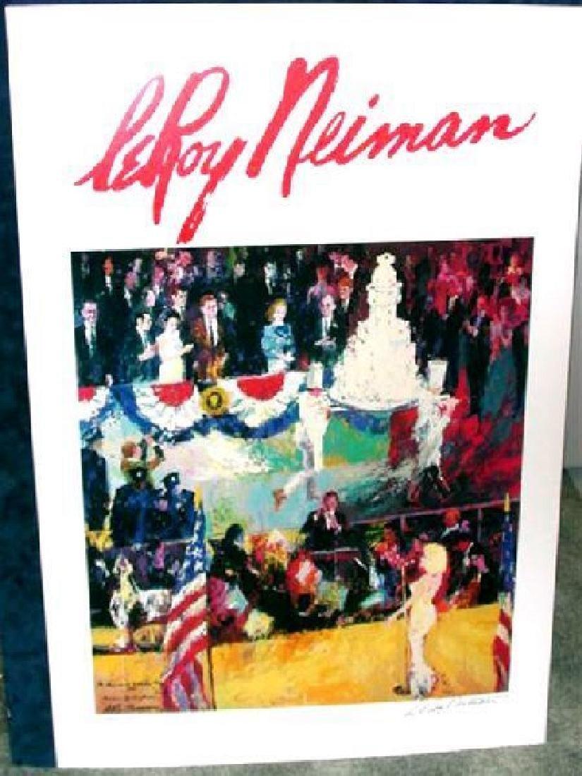 Hand Signed LeRoy Neiman: President's Birthday