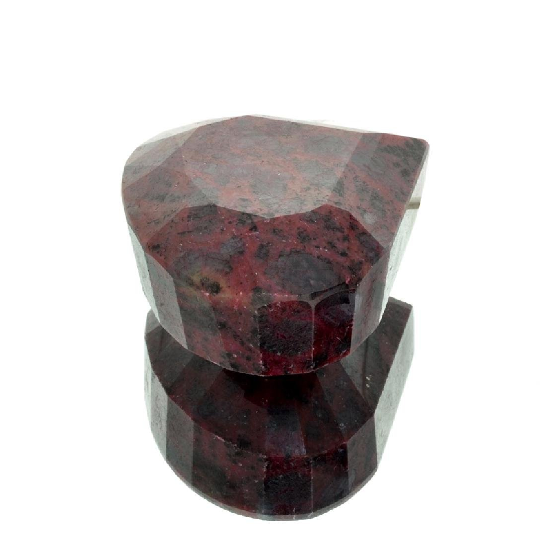 APP: 7.4k 2,962.50CT Pear Cut Red Corundum Ruby