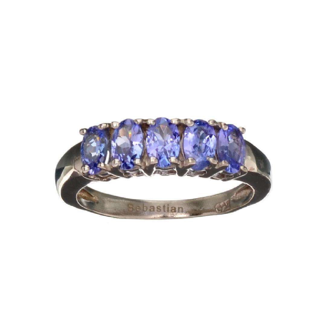 APP: 1.1k Fine Jewelry 1.15CT Oval Cut Tanzanite And