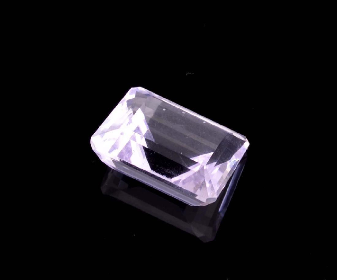 APP: 0.5k 18.00CT Emerald Cut Amethyst Quartz Gemstone