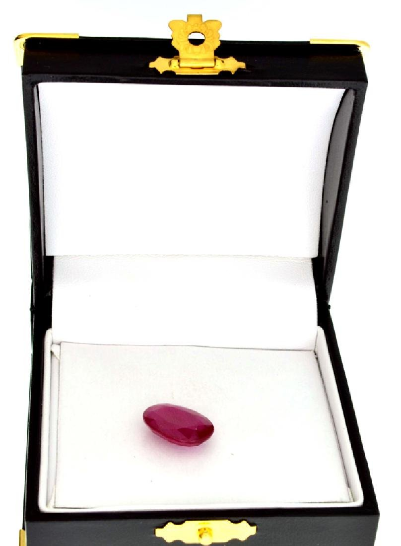 APP: 6k 10.50CT Oval Cut Ruby Gemstone