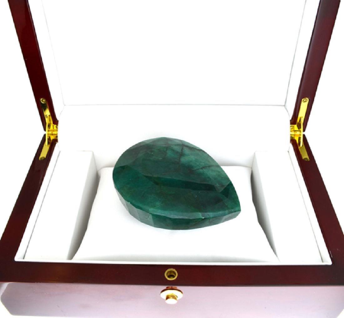 APP: 9.8k 1221.30CT Pear Cut Green Beryl Emerald