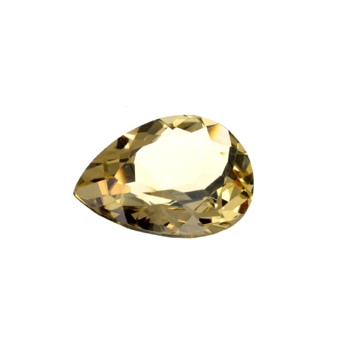 APP: 1k 24.85CT Pear Cut Citrine Gemstone