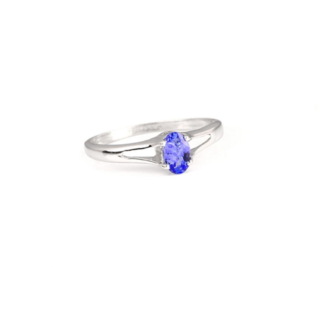 APP: 1.1k Fine Jewelry 0.45CT Oval Cut Tanzanite And
