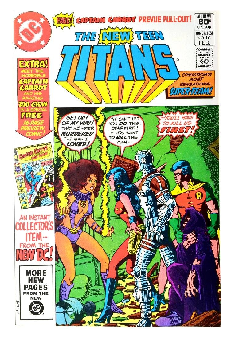 New Teen Titans (1980) Issue (Tales of ...) Issue  16