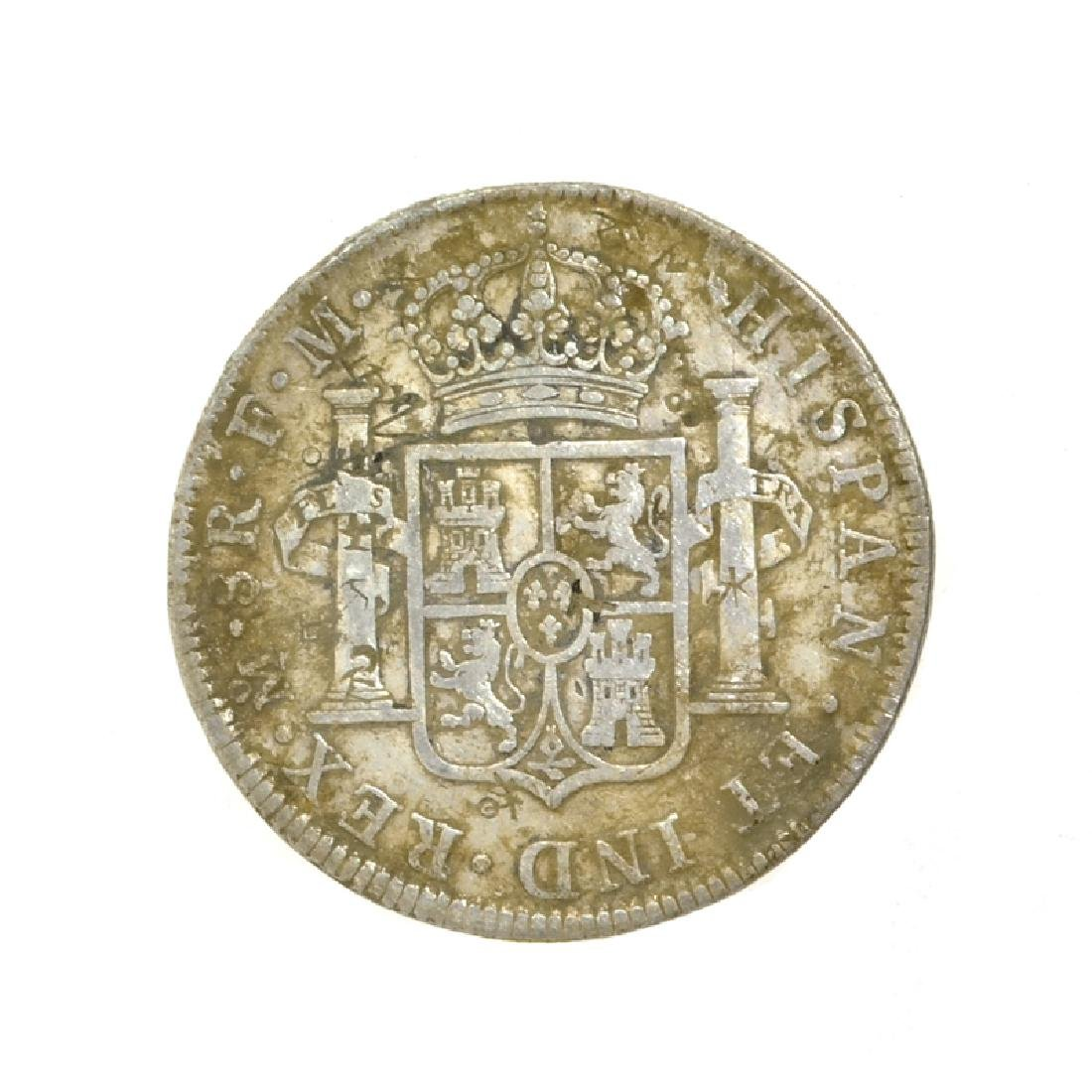 1773 Extremely Rare Eight Reales American First Silver - 2