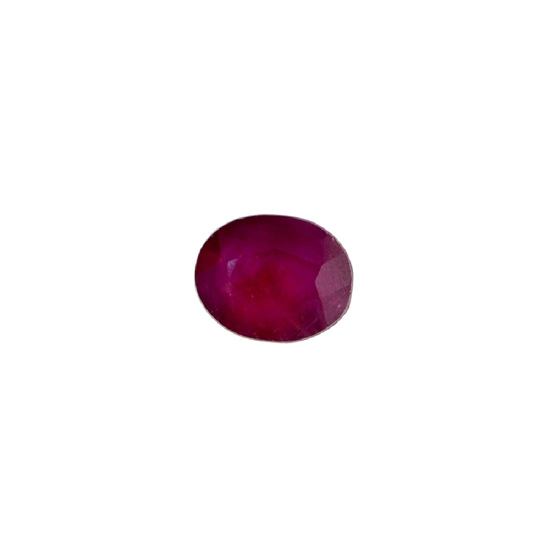 APP: 1.9k 10.66CT Oval Cut Ruby Gemstone
