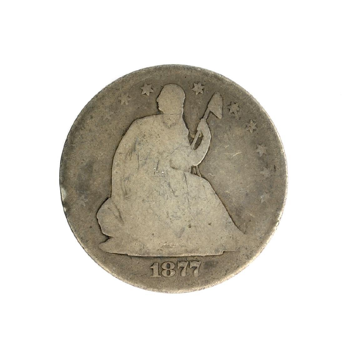 1877-S Liberty Seated Half Dollar Coin