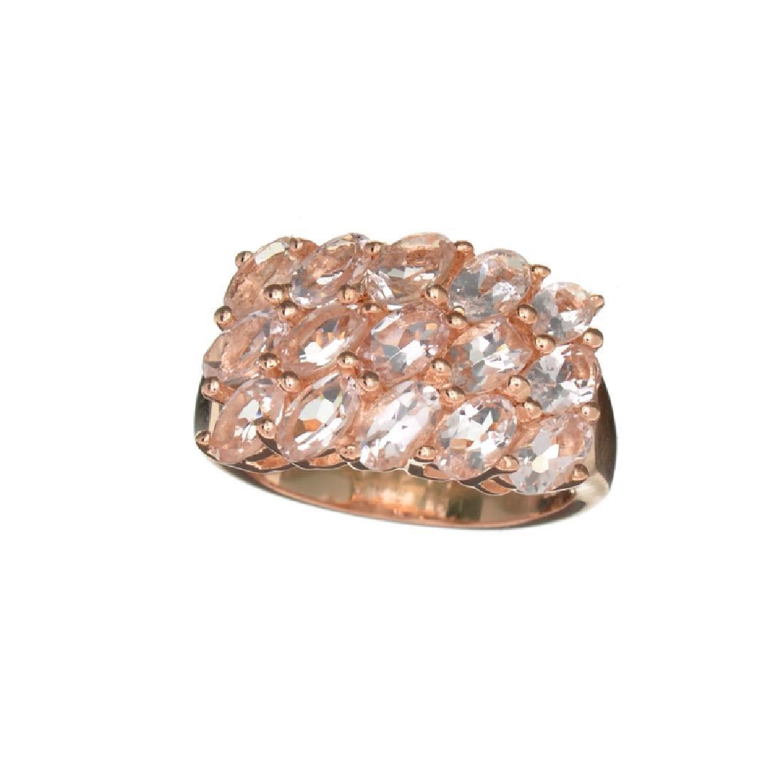 APP: 1.9k Fine Jewelry 5.00CT Oval Cut Morganite Over
