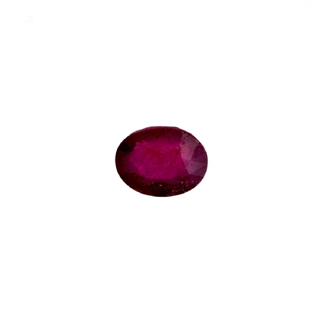APP: 2.1k 12.10CT Oval Cut Ruby Gemstone