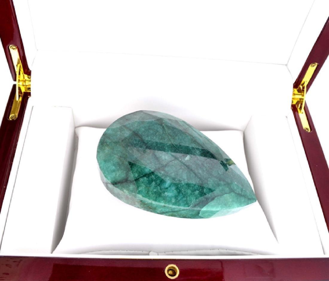 APP: 21.3k 1251.55CT Pear Cut Green Beryl Gemstone