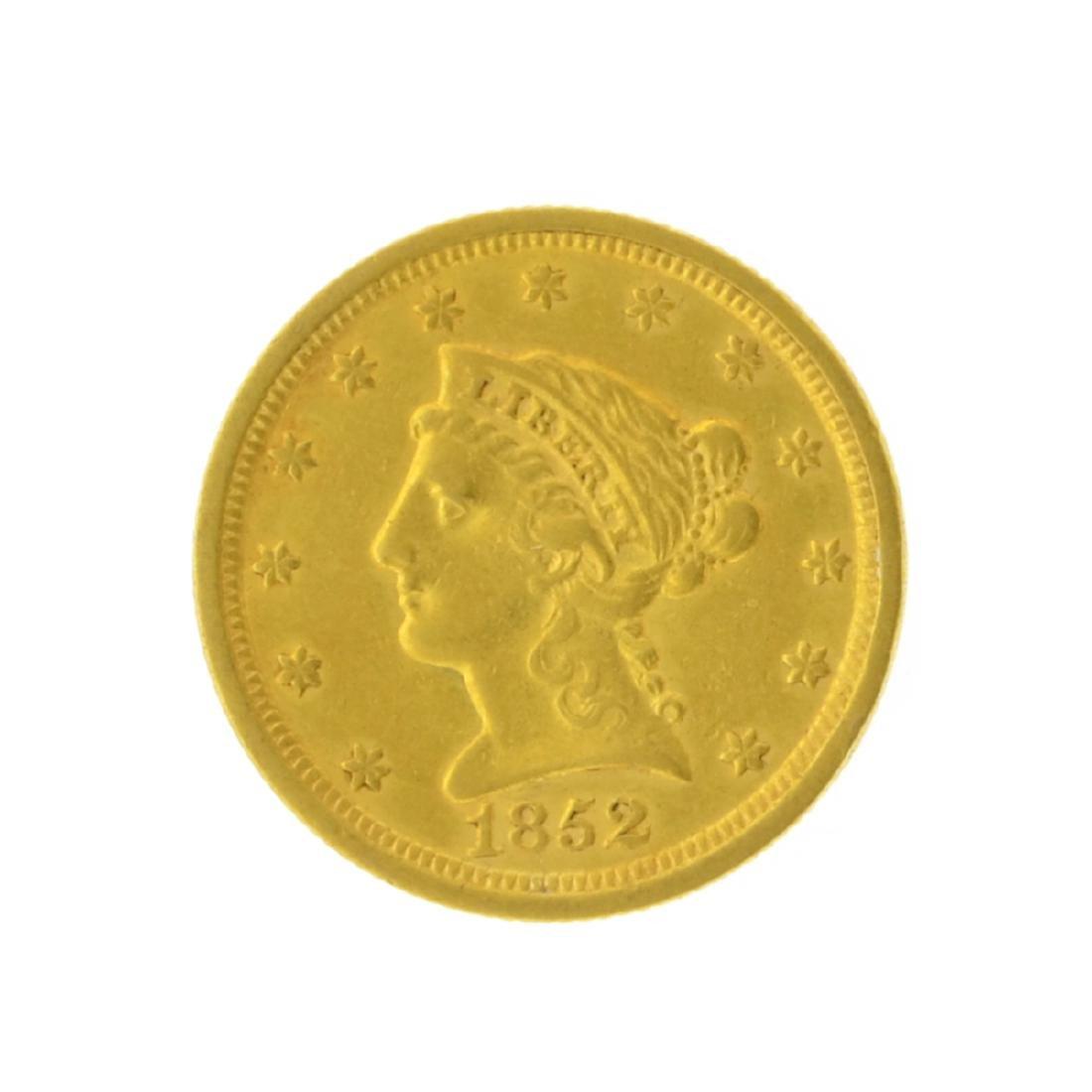 1852 $2.50 Liberty Head Gold Coin