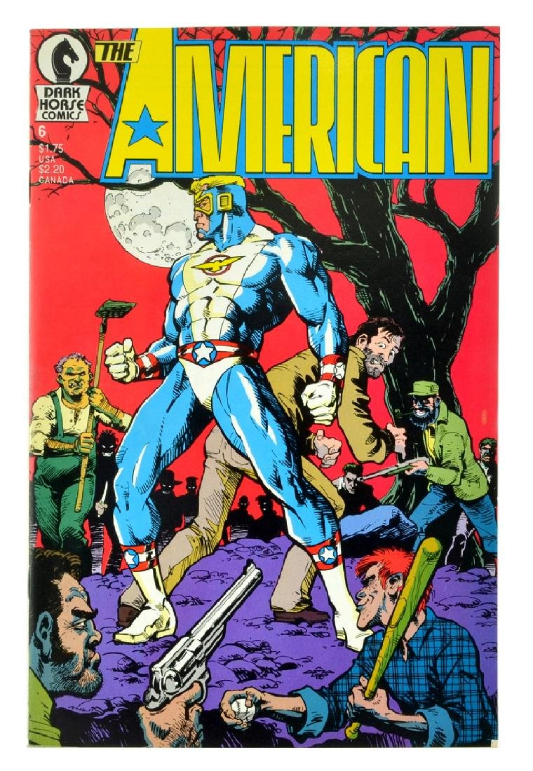 American (1987) Issue 6