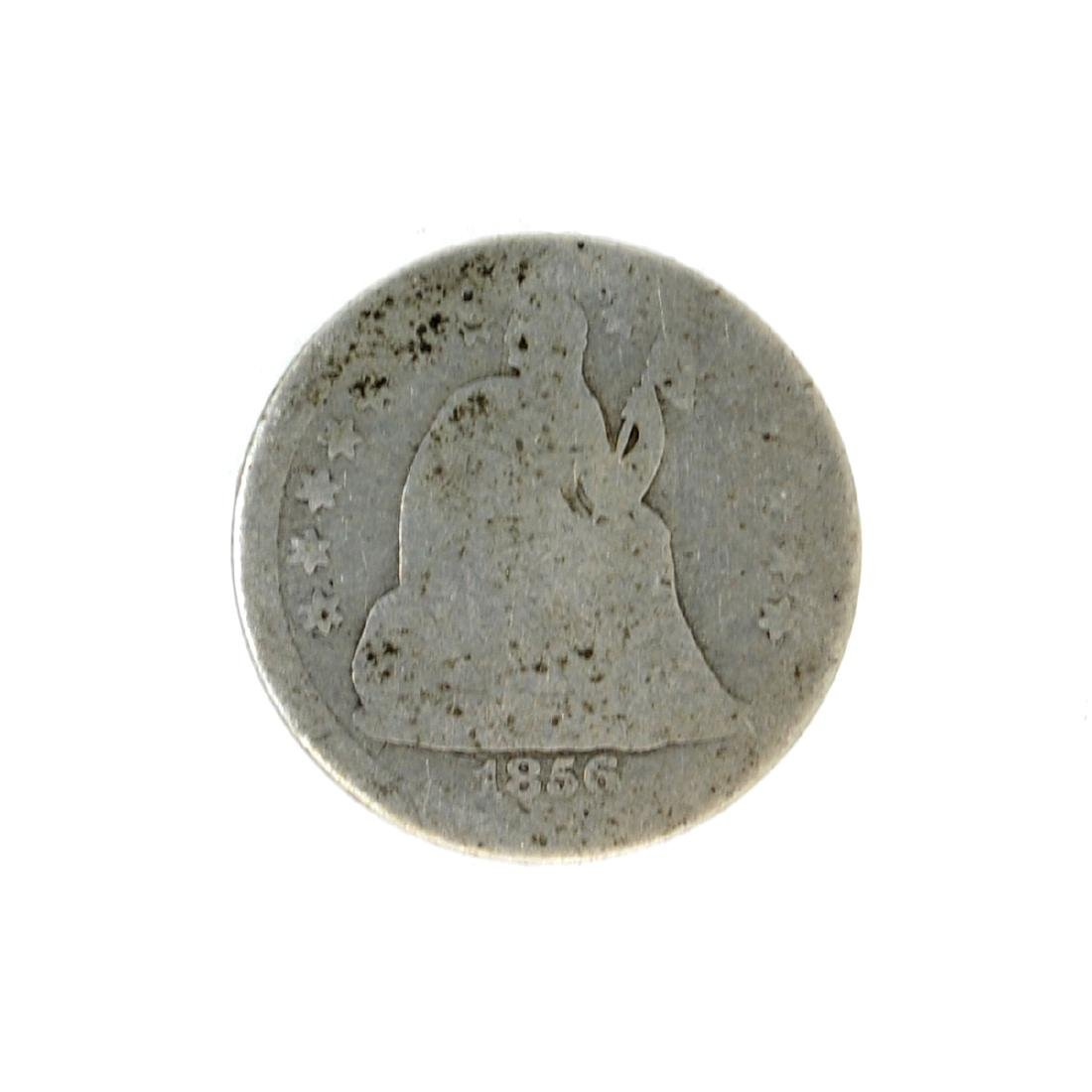 1856 Liberty Seated Dime Coin