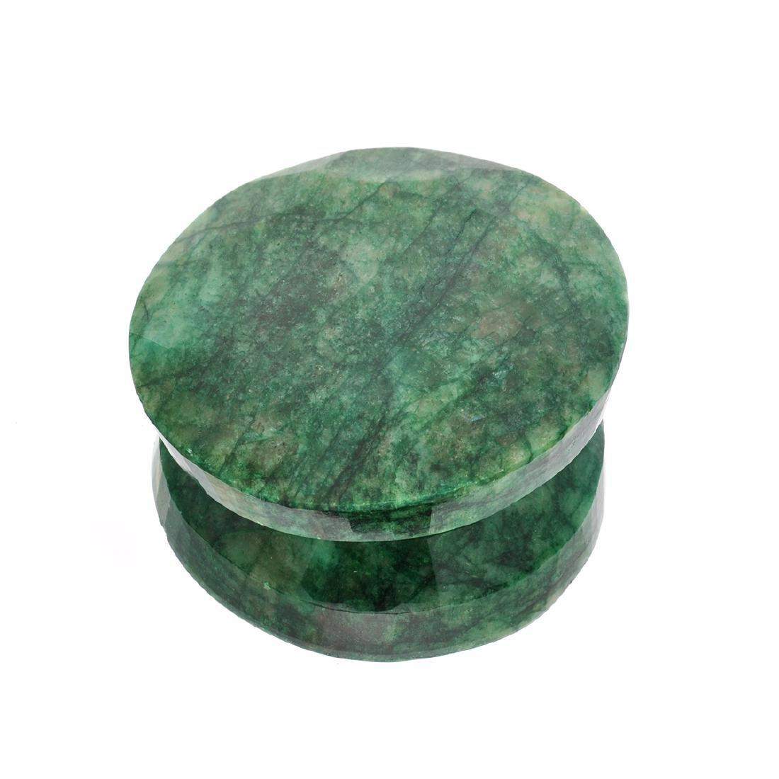 APP: 2.7k 1,069.75CT Round Cut Green Beryl Emerald