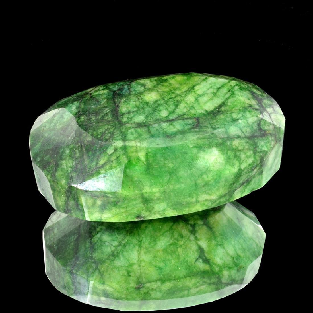 APP: 9.6k 2,391.50CT Oval Cut Green Beryl Emerald
