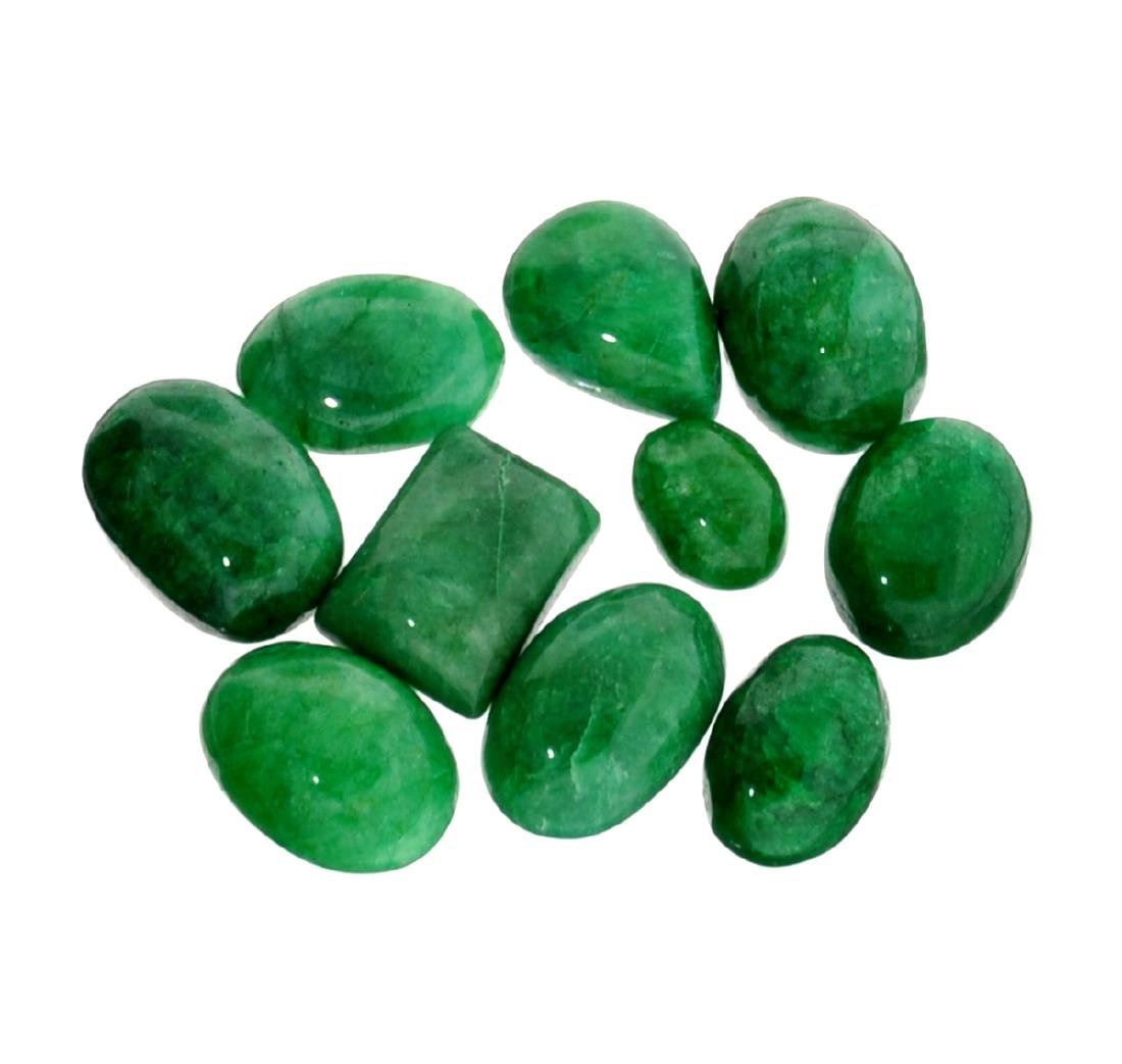 APP: 1.2k 100.00CT Various Shapes And Sizes Green Beryl
