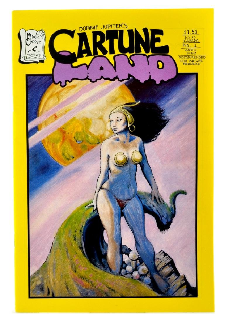 Cartune Land (1987) Issue 1