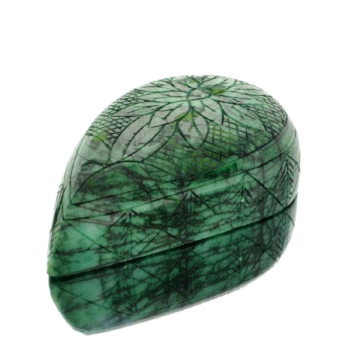 APP: 13.2k 4,418.00CT Pear Cut Green Beryl Emerald