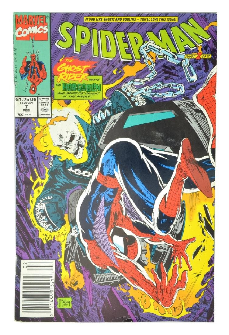 Spider-Man (1990) Issue #7