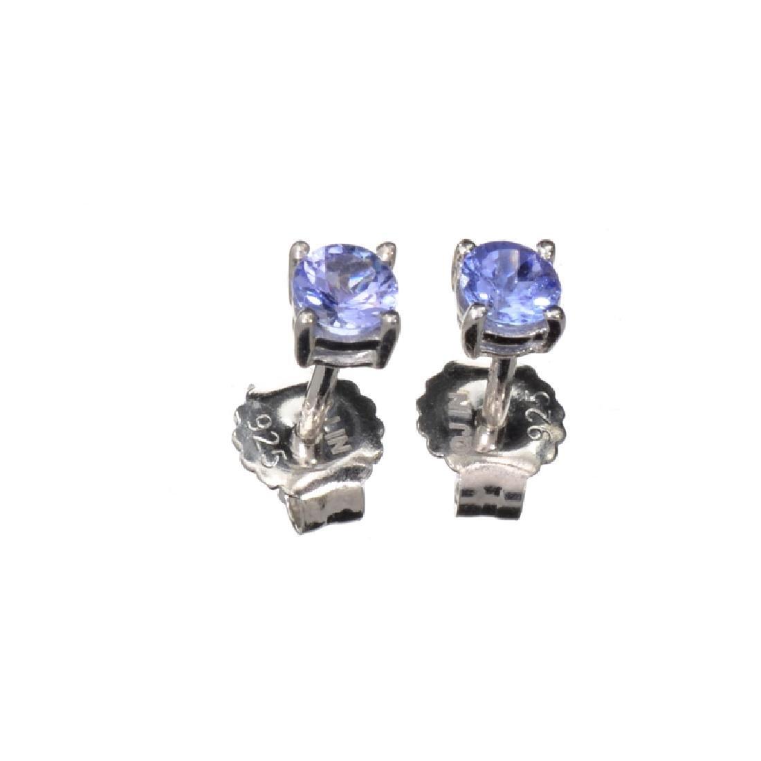 APP: 0.6k Fine Jewelry 0.50CT Round Cut Tanzanite And