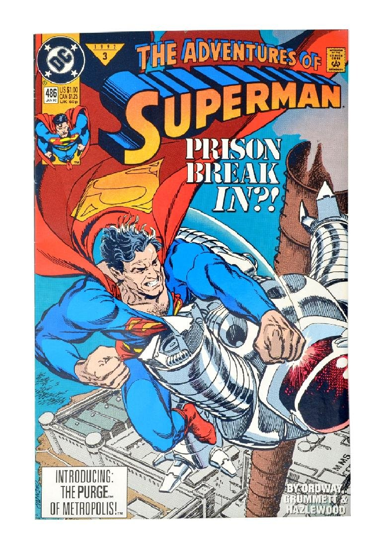 Adventures of Superman (1987) Issue #486