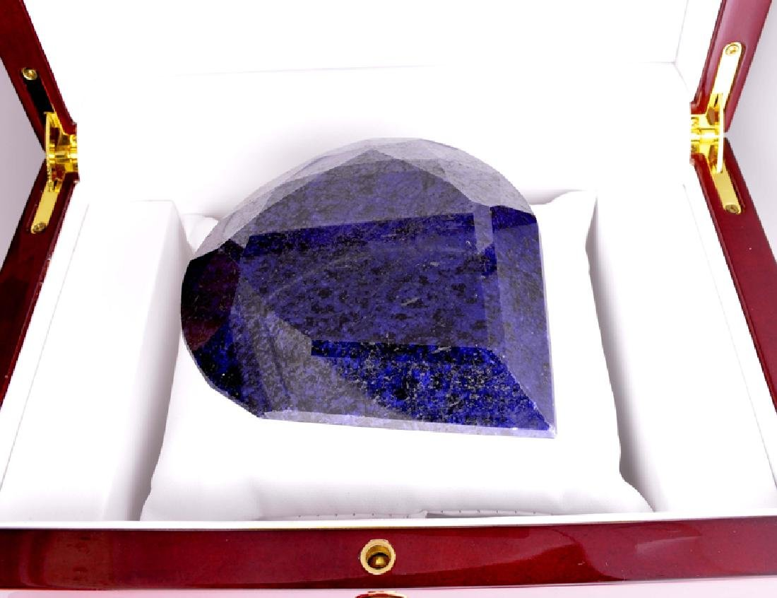APP: 8.6k 2,146.00CT Pear Cut Blue Sapphire Gemstone