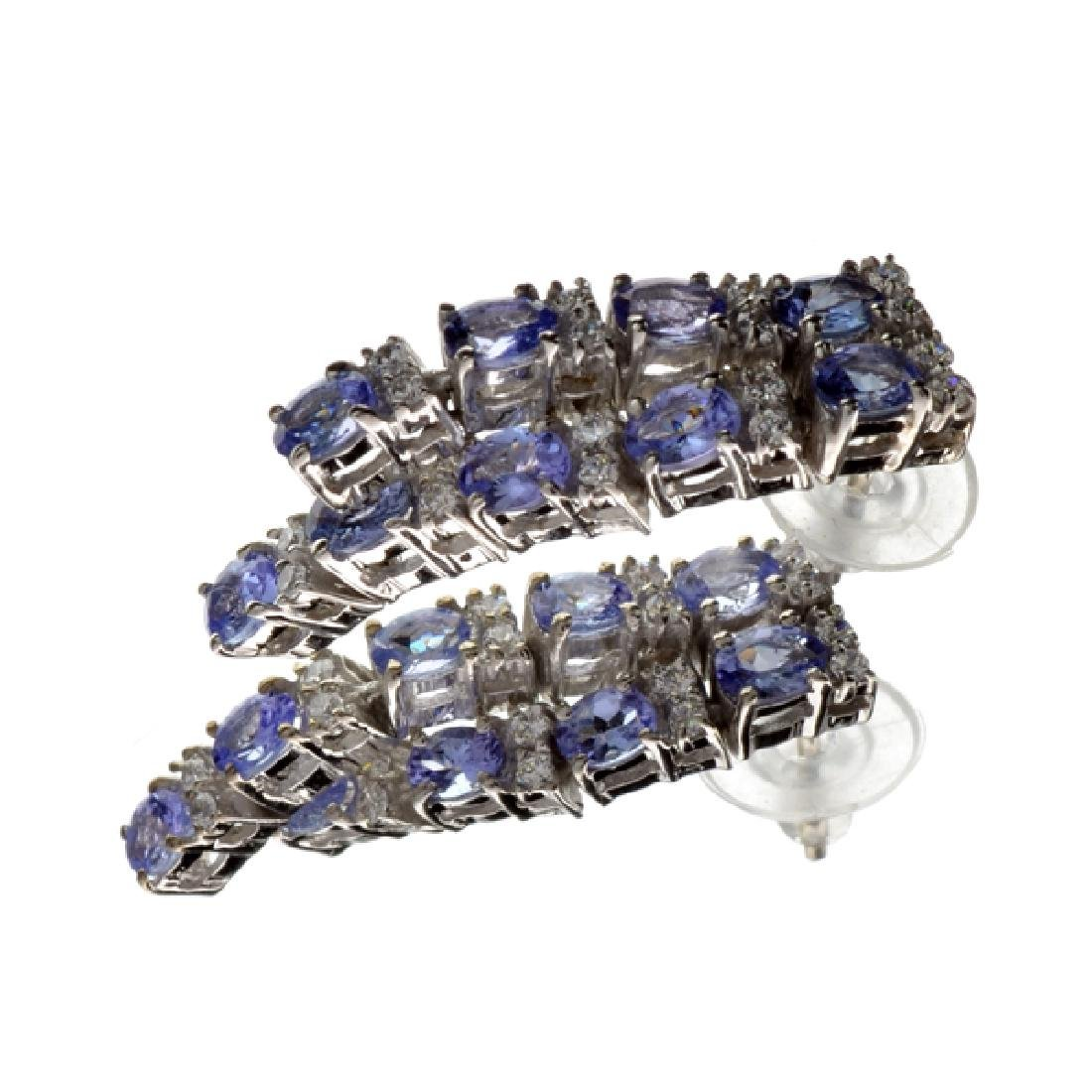 APP: 3.2k 3.56CT Tanzanite And Colorless Quartz
