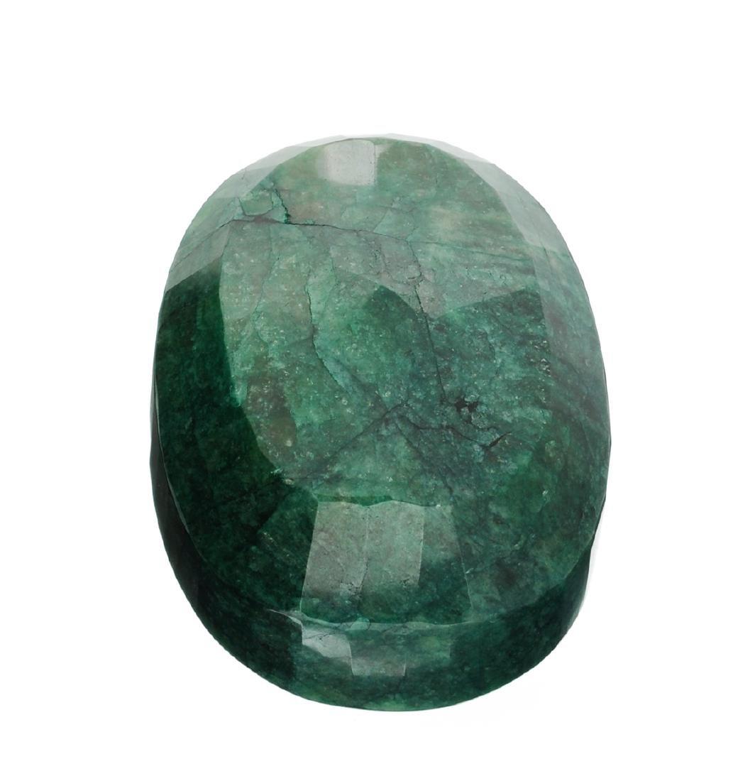 APP: 10.1k 2,529.00CT Oval Cut Green Beryl Emerald