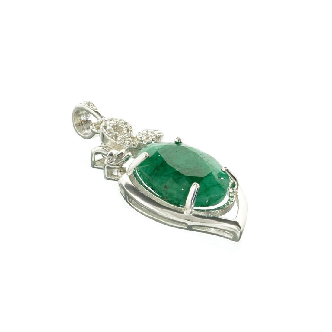 APP: 0.6k Fine Jewelry 8.00CT Oval Cut Green Beryl And