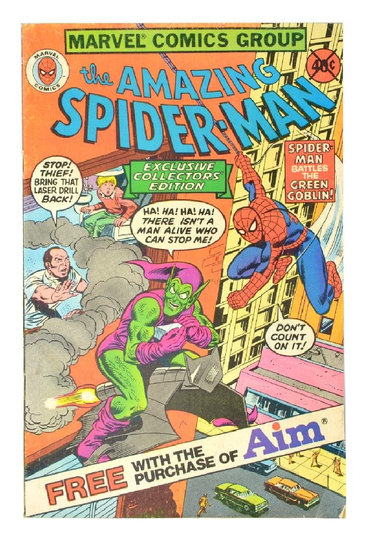Exclusive Collector's Edition Spider-Man Issue #1