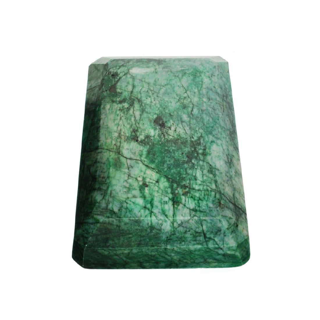 APP: 8.4k 2,101.00CT Emerald Cut Green Beryl Emerald